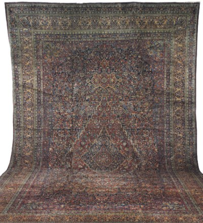 A MOHTASHAM KASHAN CARPET