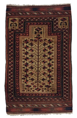 A BELOUCH PRAYER RUG