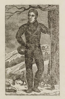 EVANS, Estwick (1787-1866). A