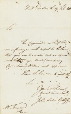 ANDRÉ, John (1751-1780), Major