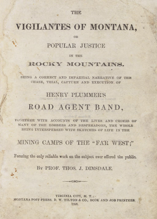 DIMSDALE, Thomas J. (d. 1866).