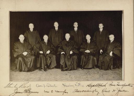 SUPREME COURT. Group photograp