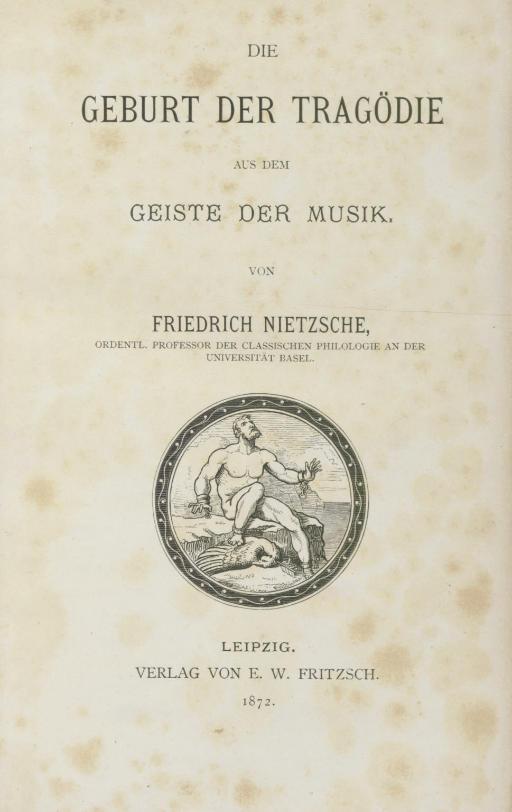 NIETZSCHE, Friedrich (1844-190