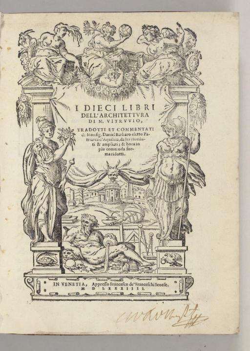 VITRUVIUS POLLIO, Marcus. I di