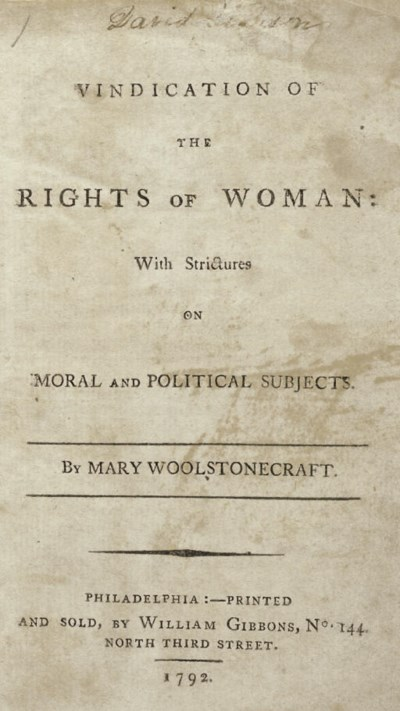 WOLLSTONECRAFT, Mary (1759-179