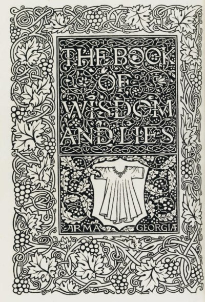 [KELMSCOTT PRESS]. ORBELIANI,