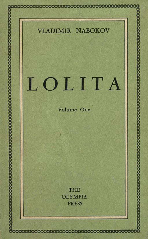 NABOKOV, Vladimir (1899-1977). Lolita. Paris: The Olympia Press, 1955.