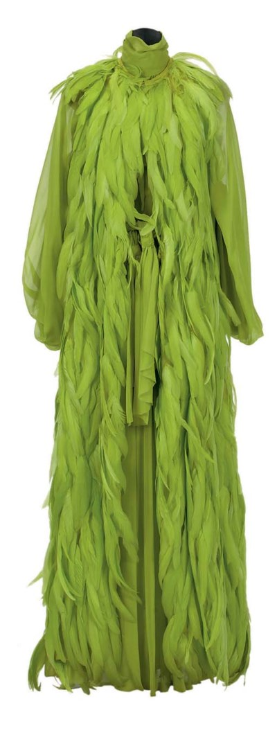 A CHRISTIAN DIOR CHARTREUSE CH
