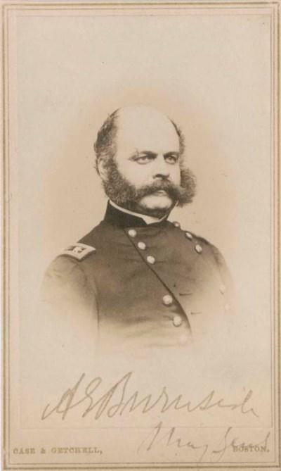 BURNSIDE, Ambrose (1824-1881),