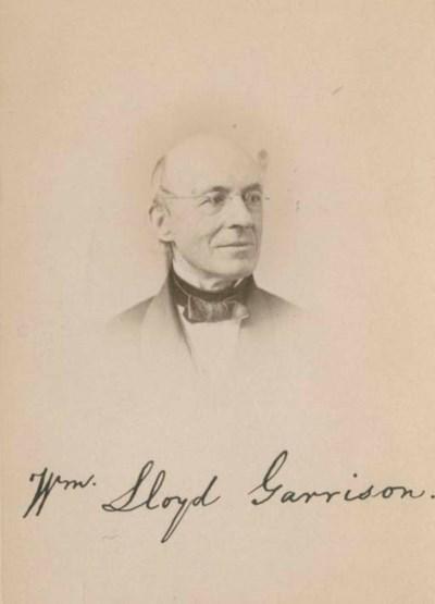 GARRISON, William Lloyd (1805-
