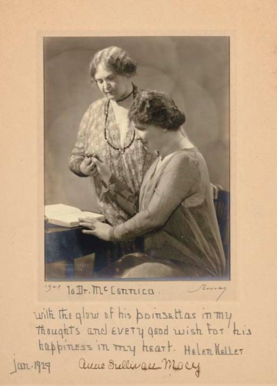 KELLER, Helen Adams (1880-1968