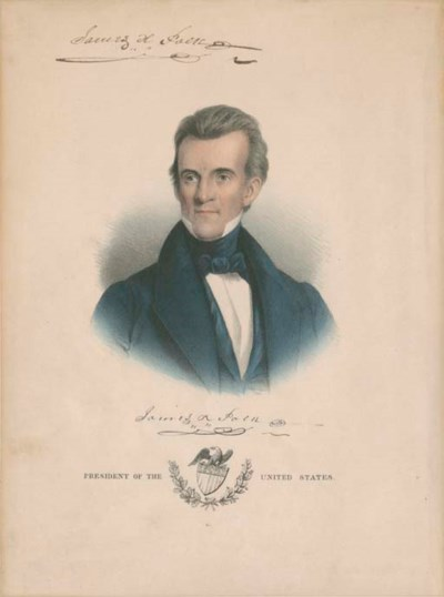 POLK, James K. (1795-1849), Pr