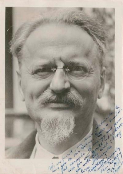 TROTSKY, Leon (1879-1940), Rus