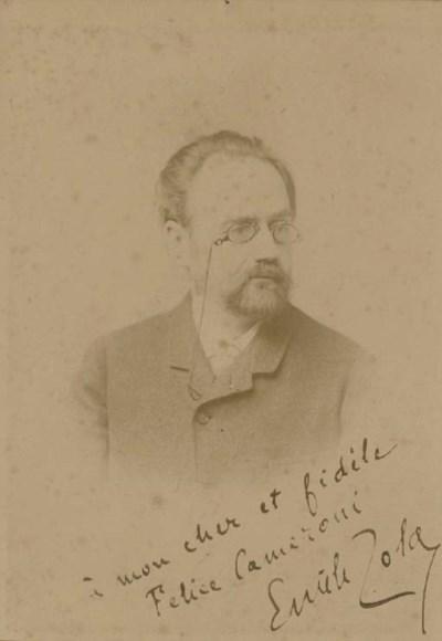 ZOLA, Emile (1840-1902). Cabin