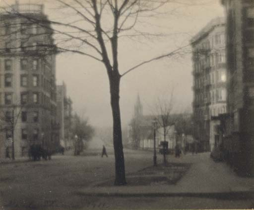 St. Nicholas Avenue, South from 146th Street, 1911