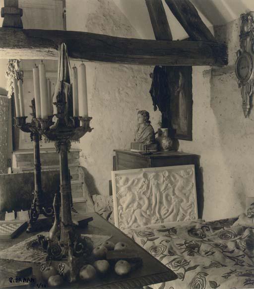 La Maison du Sculpteur Delvol à Fontaine la Rivière, 1943