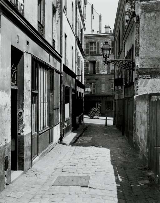Rue des Patriarches, Paris, 1953