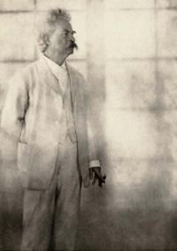 Mark Twain, 1908, from Men of Mark, 1913