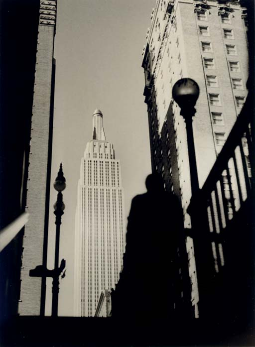 Empire State Building from the Subway, c. 1950
