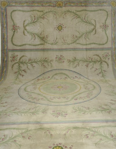 A SAVONNERIE CARPET
