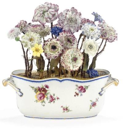 A SÈVRES VASE OF FLOWERS (SCEA