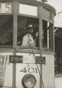 Havana Streetcar, 1933