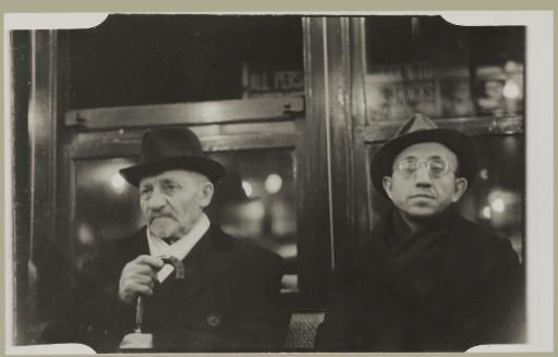 Subway Portrait, 1938-1941