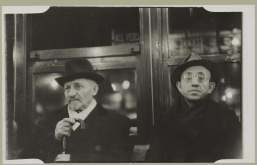 Subway Portrait, 1938-1941