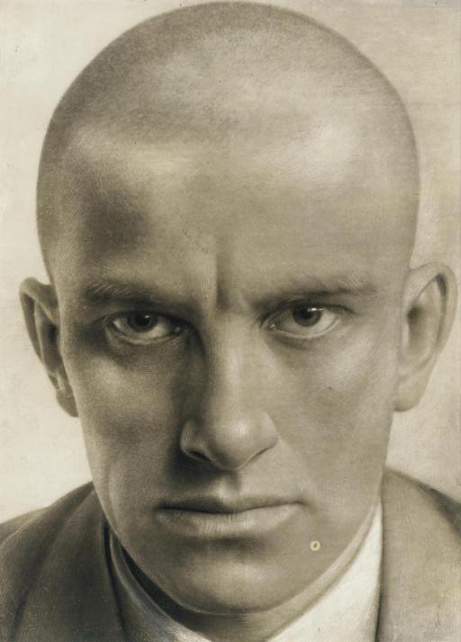 Portrait of Vladimir Mayakovsky, 1924