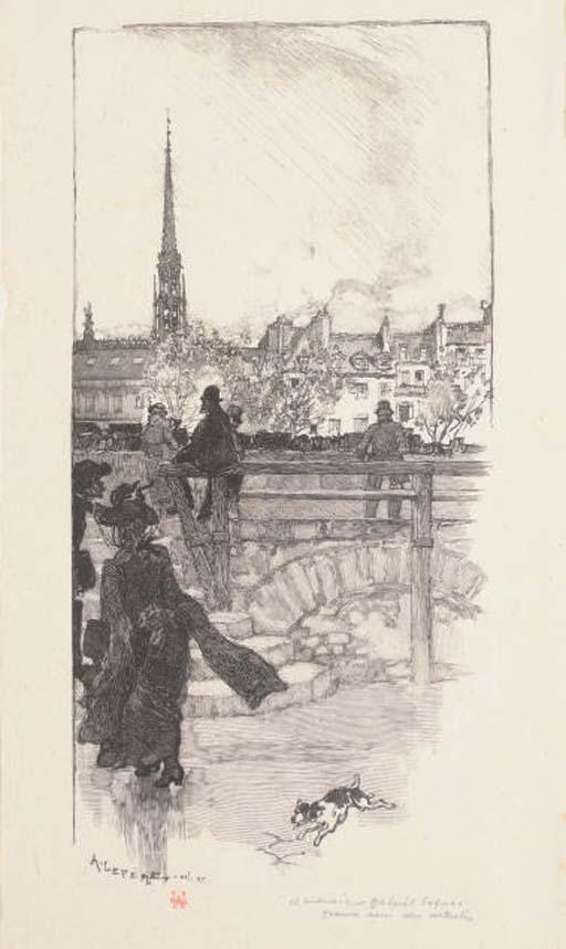 AUGUSTE LOUIS LEPERE (1849-1918)