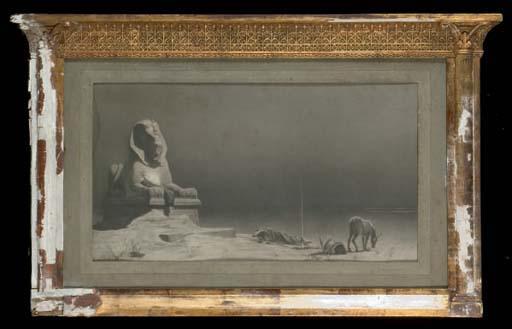 D'APRES LUC OLIVIER MERSON (1846-1920)