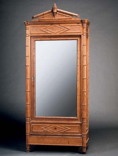 ARMOIRE A GLACE VERS 1900