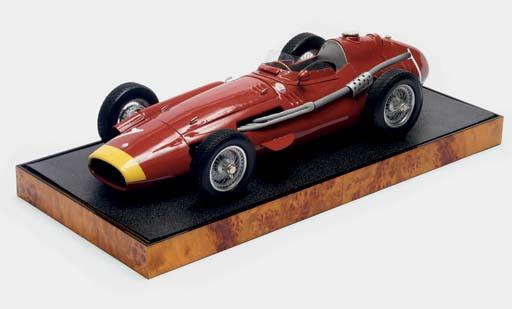 Maserati - La monoplace 250 F de Juan Manuel Fangio Champion du Monde 1957