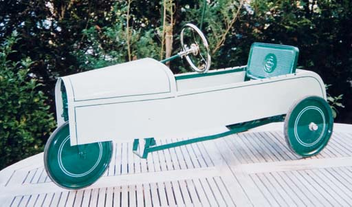 L. DOMECQ - Automobilette SS - Circa 1935