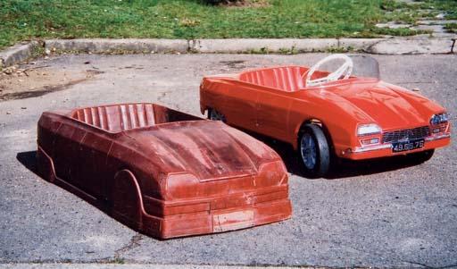 M. GUERINEAU - Moule en bois de la Citroën GS - Circa 1970