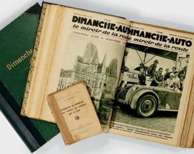Dimanche Auto; deux volumes de