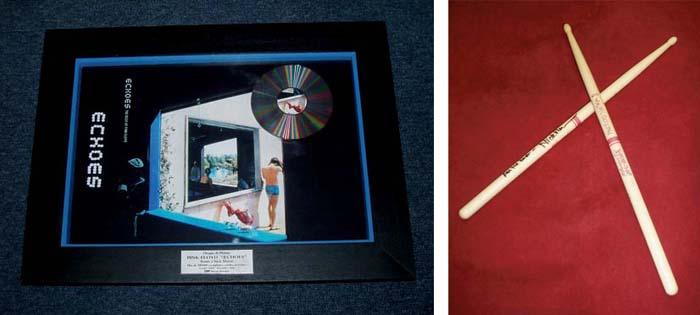 Pink Floyd; un disque en plati