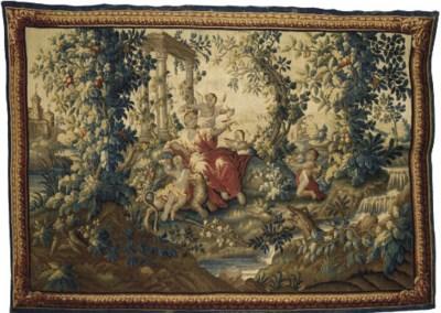 TAPISSERIE D'AUBUSSON DU XVIII