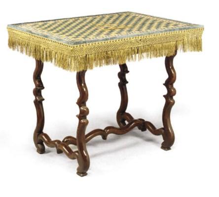 TABLE DU XVIIEME SIECLE