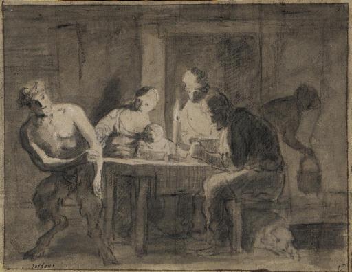 Le satyre et le paysan