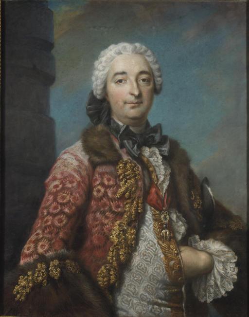 Portrait du duc Honoré-Armand de Villars (1702-1770), maréchal de France, gouverneur de Provence et chevalier de la Toison d'Or