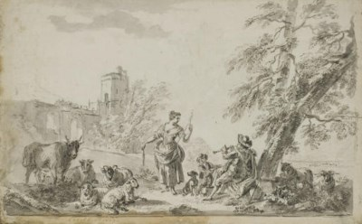 ECOLE FRANCAISE, 18EME SIECLE