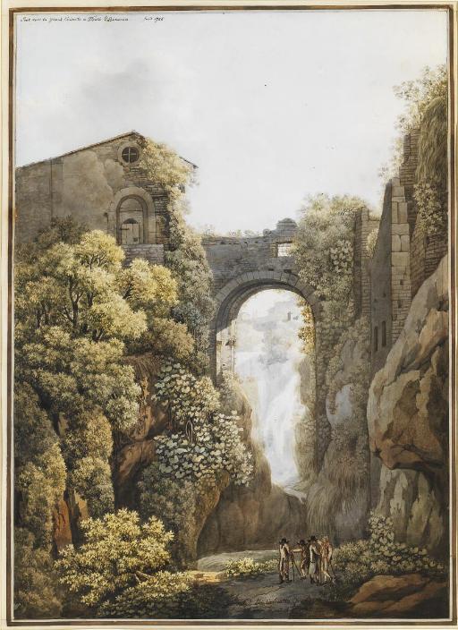 Les cascades de Tivoli