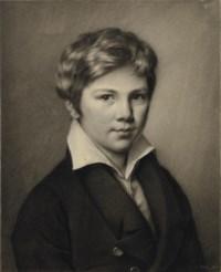 Un jeune garçon en buste: portrait présumé d'August Staechelin