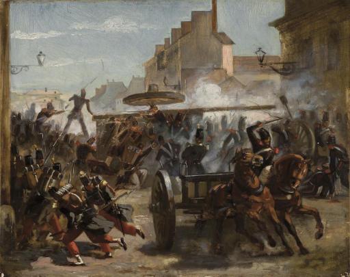 ECOLE FRANCAISE, 1848
