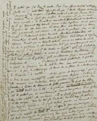 """FLAUBERT, Gustave (1821-1880). Lettre autographe à Louise Colet paraphée """"Ton G."""", 15 juin 1853."""