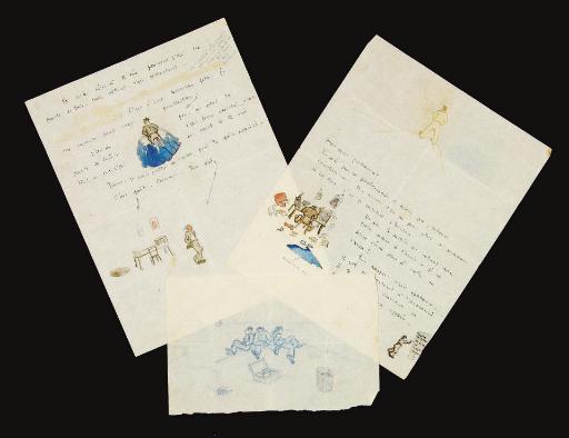 SAINT-EXUPÉRY, Antoine de (1900-1944). Lettre autographe signée à Henry Guillaumet. S.d.