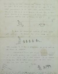 SAINT-EXUPÉRY, Antoine de (1900-1944). Lettre autographe signée. S.d. [vers 1925?].