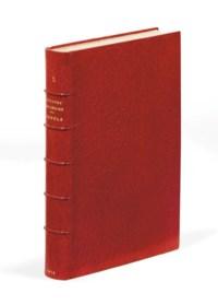 APOLLINAIRE, Guillaume (1880-1918). Alcools. Poèmes (1898-1913). Paris: Mercure de France, 1913.