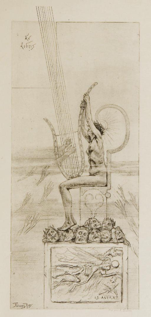 MALLARMÉ, Stéphane (1842-1898). Les Poésies de Stéphane Mallarmé photolithographiées du manuscrit définitif. Paris: Éditions de la Revue indépendante, 1887.